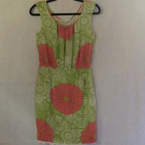 TRINA TURK SILK DRESS SIZE 4